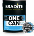 Product Image for Bradite One Can Eggshell Primer & Finish